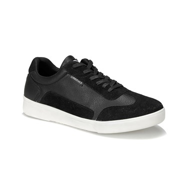 Lumberjack Riley 9Pr Erkek Sneaker Ayakkabı Siyah